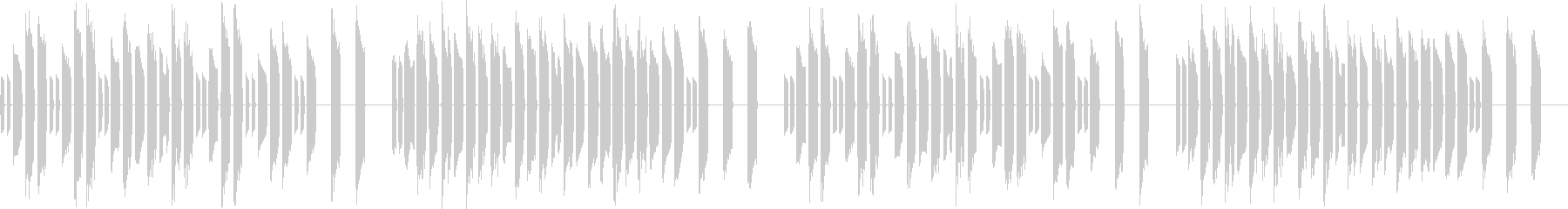 3分クッキングの原曲【シンセ】ループ2の未再生の波形