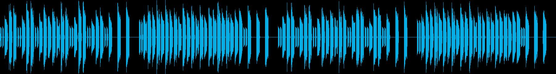 3分クッキングの原曲【シンセ】ループ2の再生済みの波形