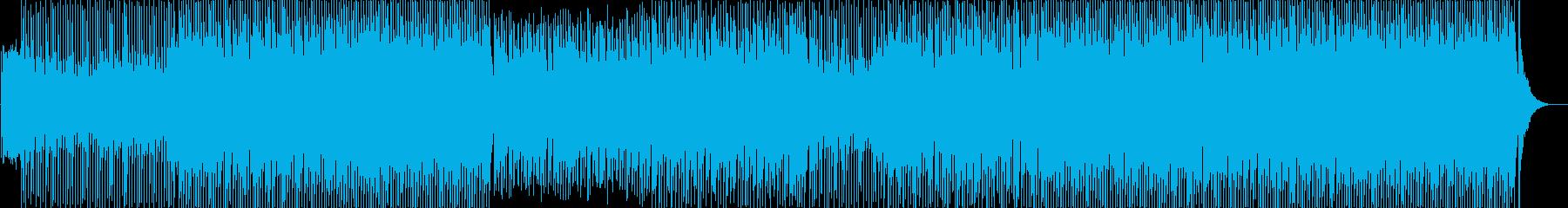 Upbeat Orientalの再生済みの波形