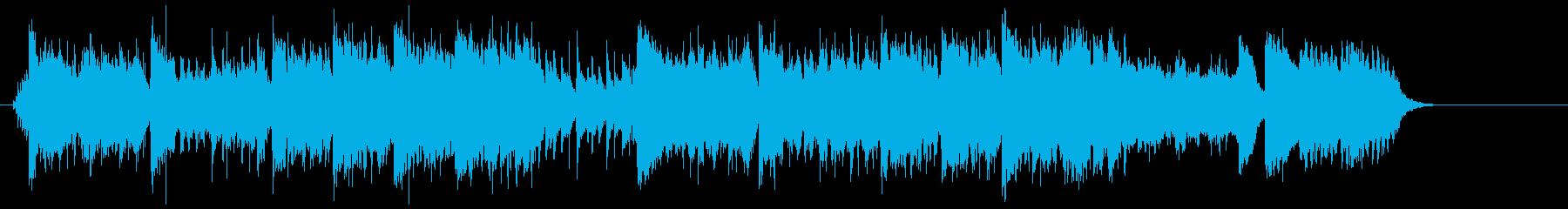 絢爛豪華なチャイニーズ・テイストの再生済みの波形