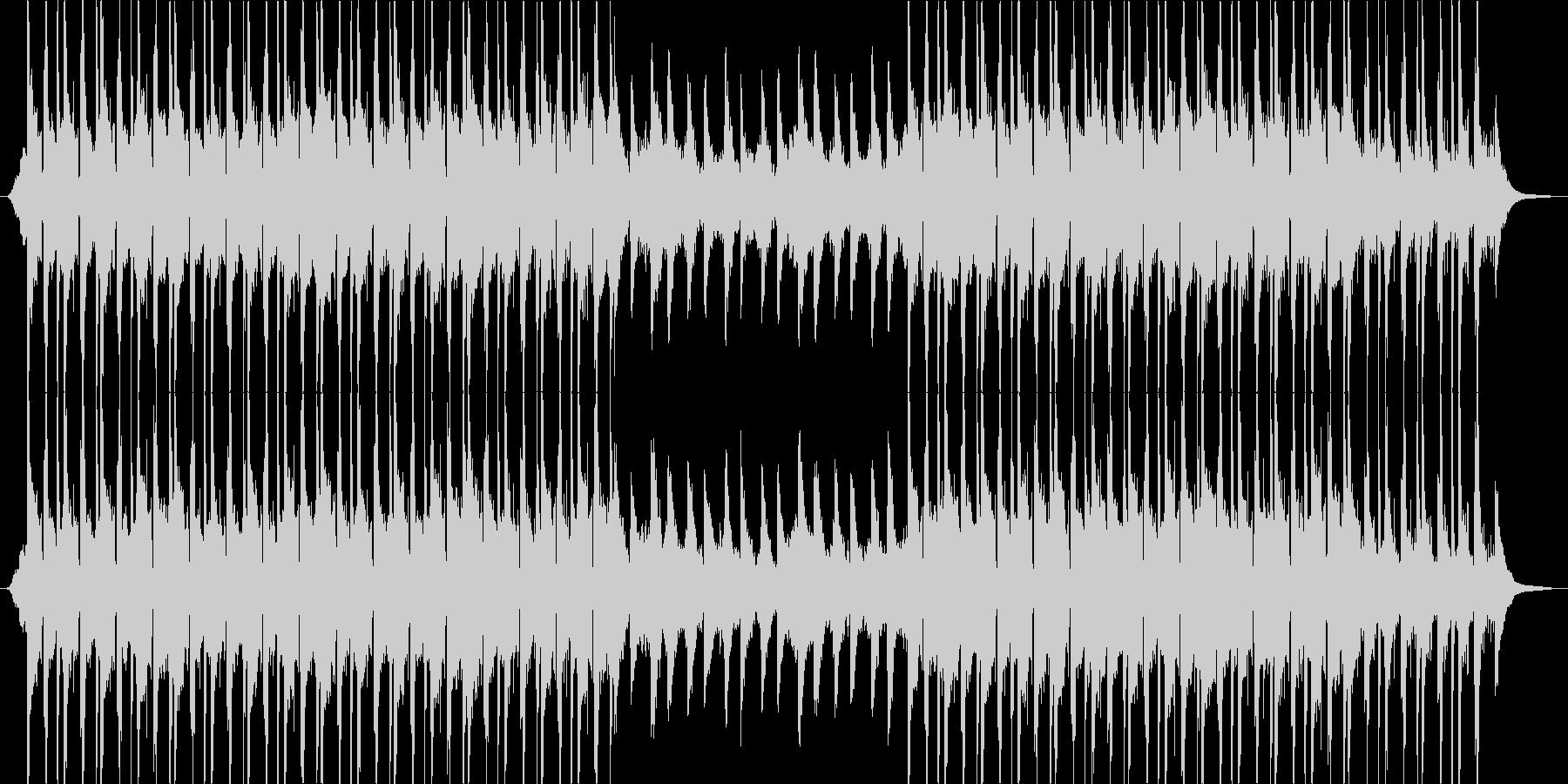 メロディアスなビートとドゥドゥクの未再生の波形