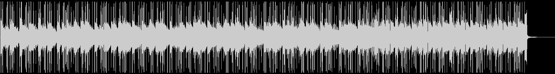 Lofiフルートの悲しいメロディBGMの未再生の波形