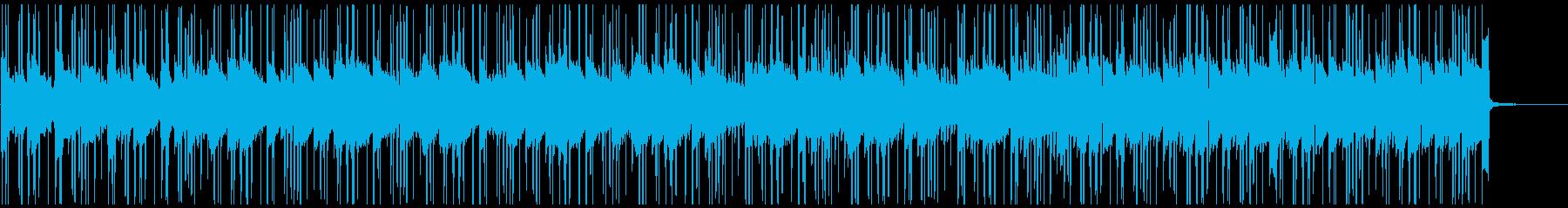 Lofiフルートの悲しいメロディBGMの再生済みの波形