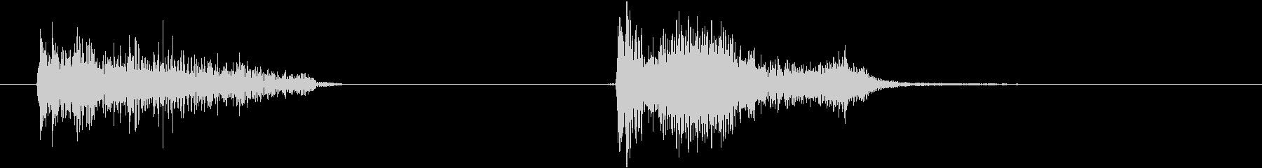電力装置 バズ08の未再生の波形