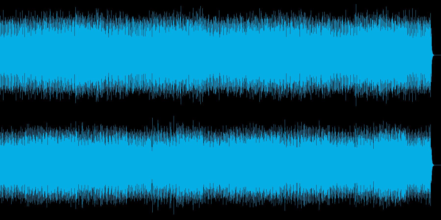 鍵盤楽器の緊張感あるミニマルポストロックの再生済みの波形