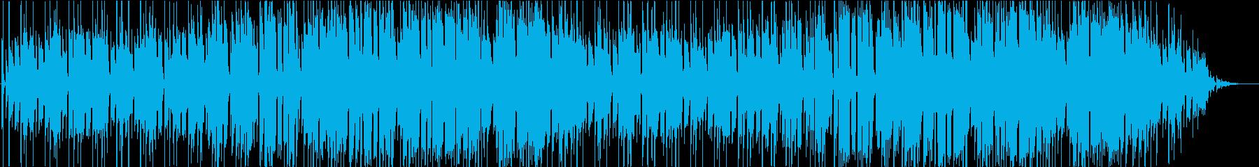 ほのぼのしたポップなレゲエの再生済みの波形