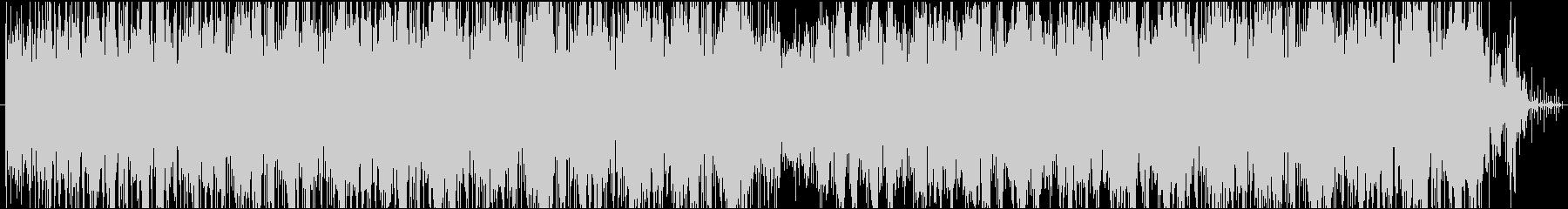 大人な雰囲気のグルーブパターンの未再生の波形