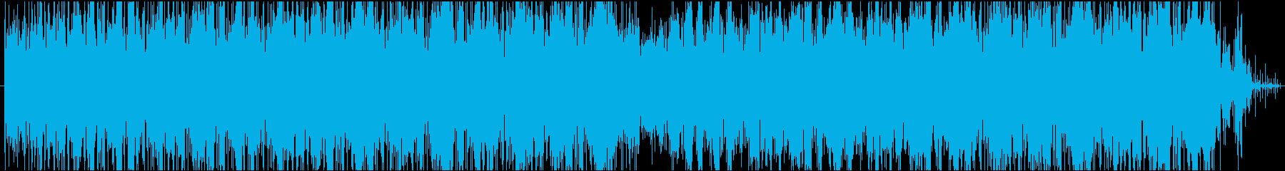 大人な雰囲気のグルーブパターンの再生済みの波形