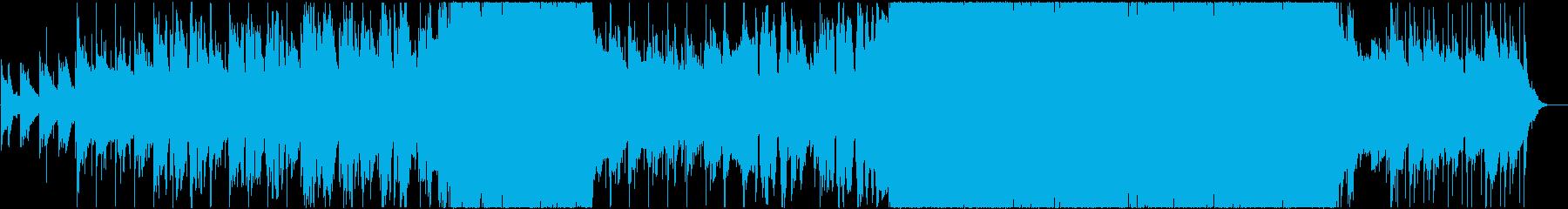 ストーリーライターの再生済みの波形