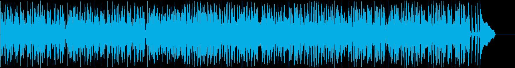 ジャズ・楽しい・パーティ・ワイワイの再生済みの波形
