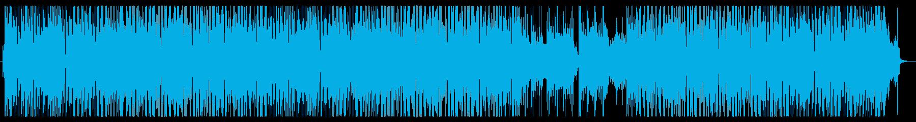 爽やかな琴の音色の和ポップボサノヴァの再生済みの波形