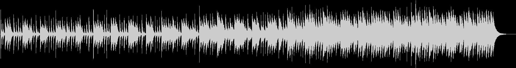 ピアノ&ハンドクラッピングの未再生の波形
