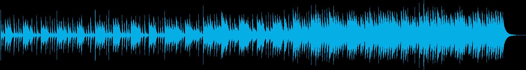 ピアノ&ハンドクラッピングの再生済みの波形