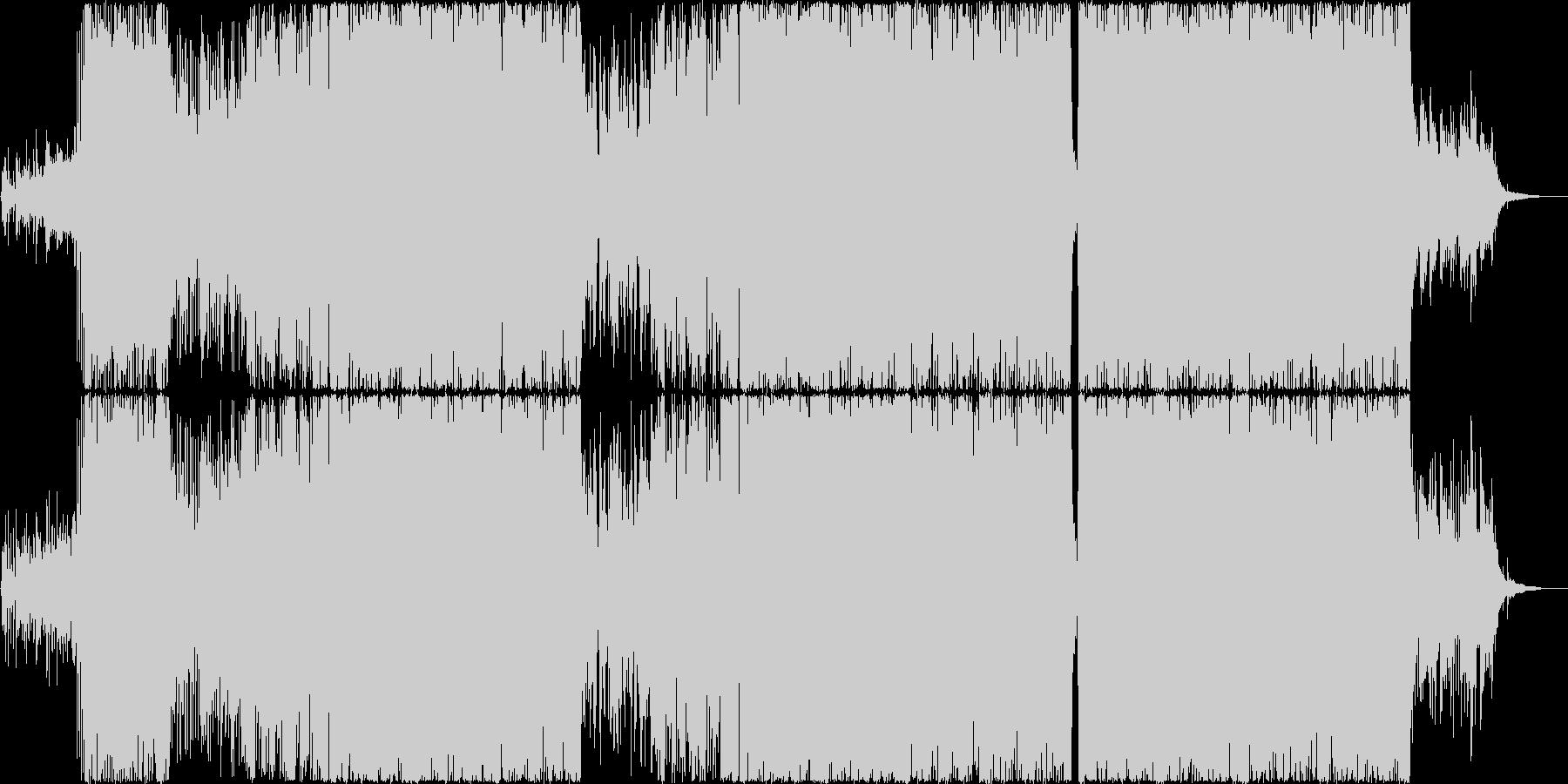 鯖鯖の未再生の波形