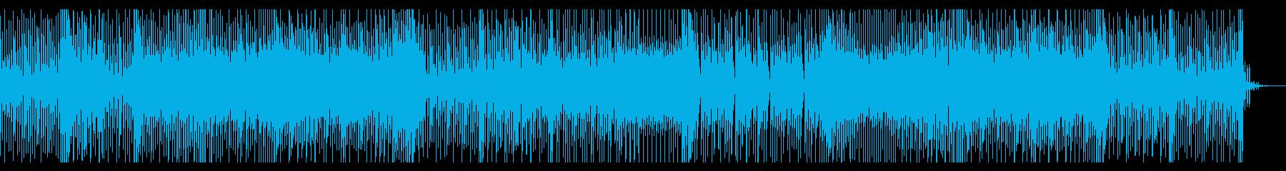 ほのぼのとして暖かい気持ちにさせる曲の再生済みの波形