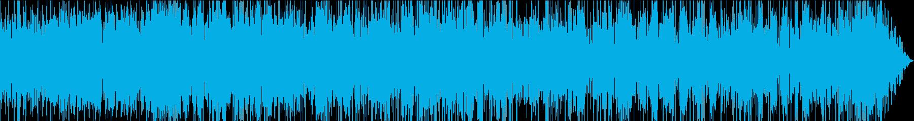 無機的なモードジャズの再生済みの波形