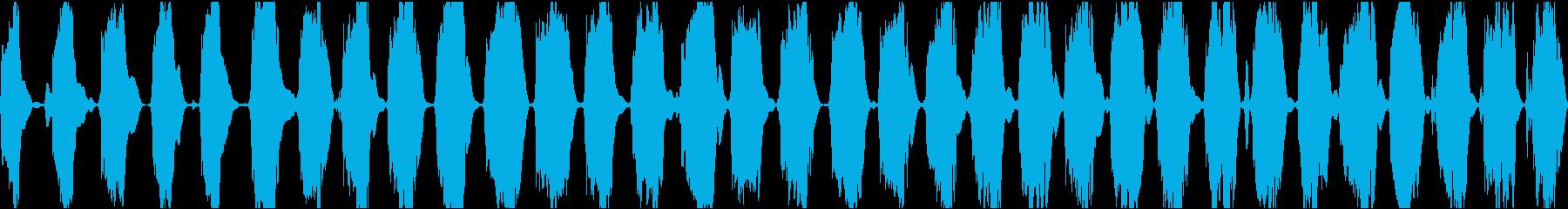 低ロボット歪みのバズトーンスペース...の再生済みの波形