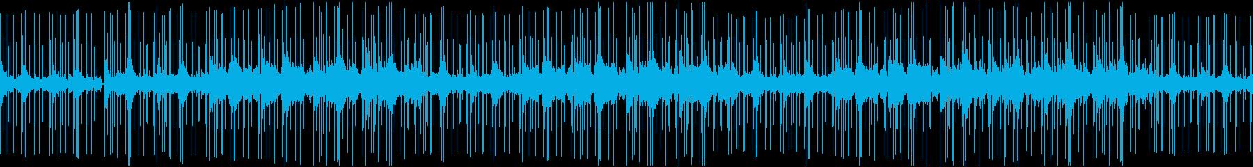冬のローファイサウンド 落着く おしゃれの再生済みの波形