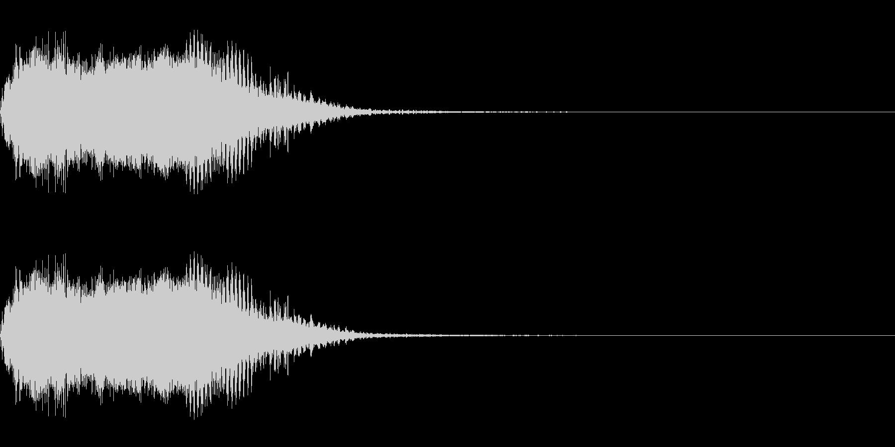 スパーク音-06の未再生の波形