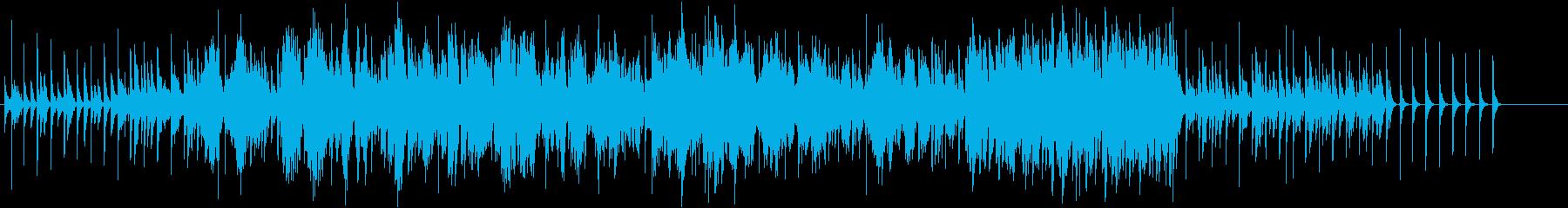 独特なリズムと生ヴァイオリンの怪しげな曲の再生済みの波形