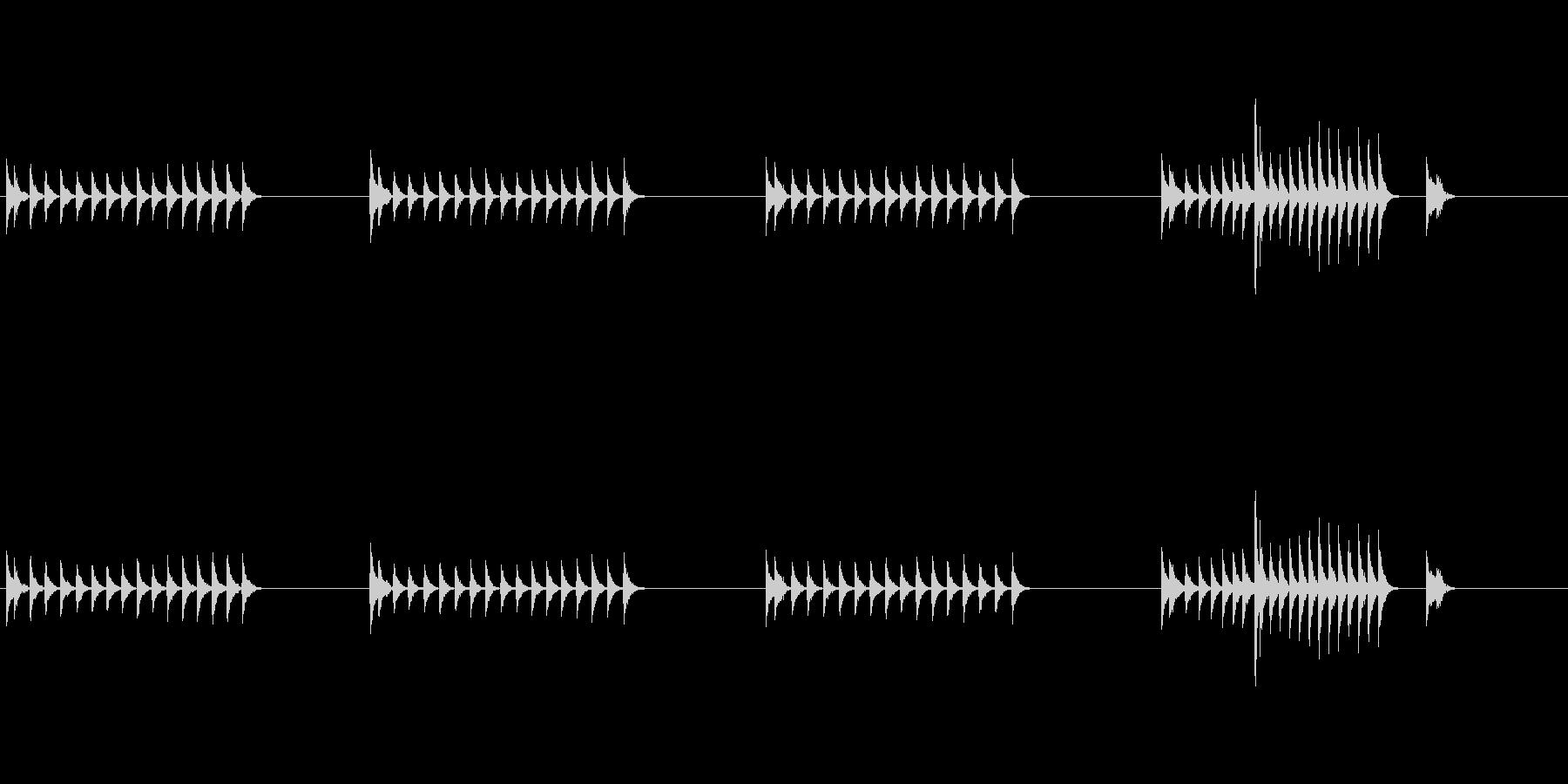 大太鼓23山ヲロシ歌舞伎情景描写和風和太の未再生の波形