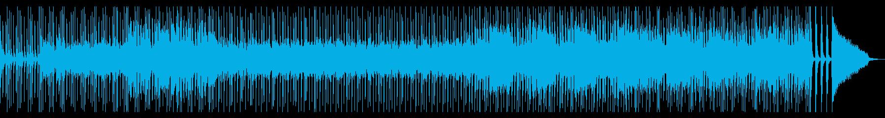 アップテンポで元気なブラスロックンロールの再生済みの波形