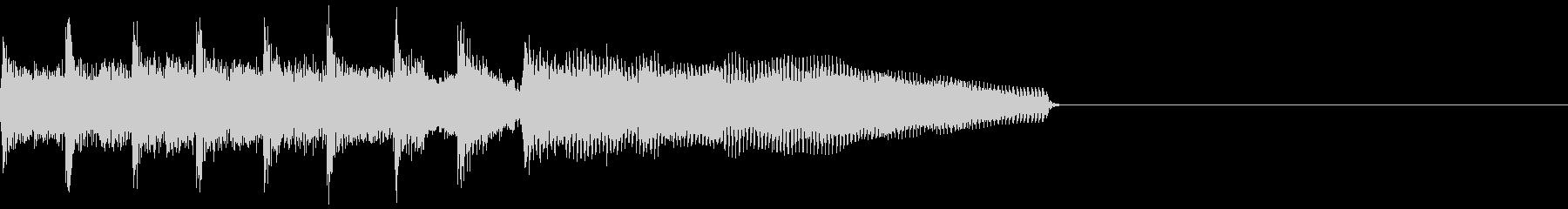 ギター効果音 ライバル出現の未再生の波形