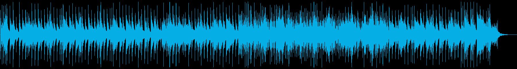 ピアノベースの落ち着いたジャズの再生済みの波形