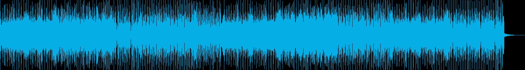 ピアノ音が哀愁ただようPOPS曲の再生済みの波形
