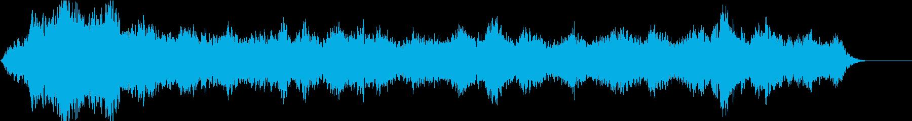 ドローン エジプトのハイ01の再生済みの波形