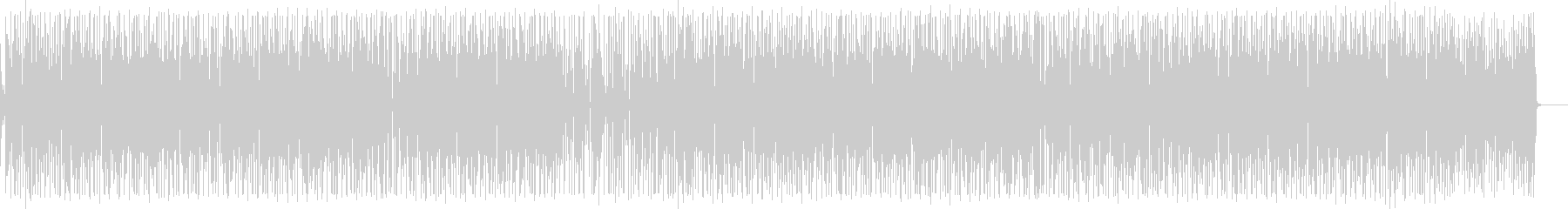 ほのぼの生アコギのギターポップスの未再生の波形