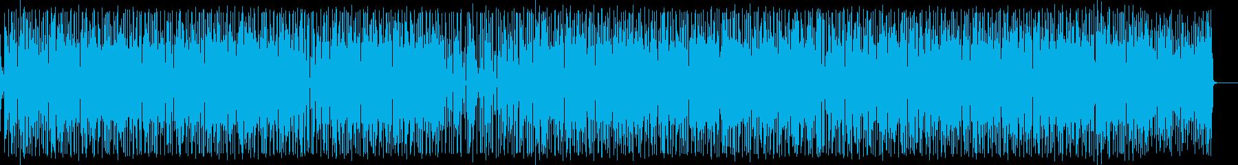 ほのぼの生アコギのギターポップスの再生済みの波形