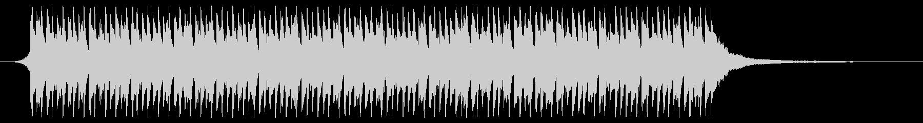 サビのみver 青空 ポジティブ ピアノの未再生の波形