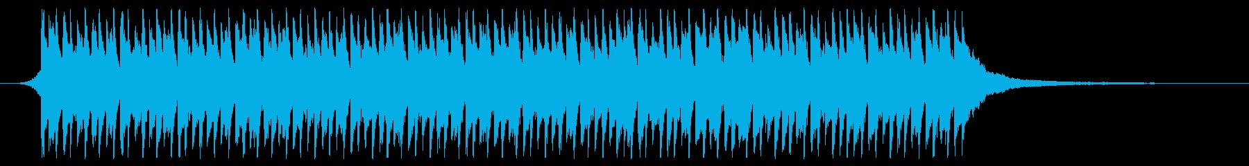 サビのみver 青空 ポジティブ ピアノの再生済みの波形
