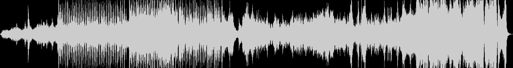 アラビア風のオーケストラ組曲の未再生の波形