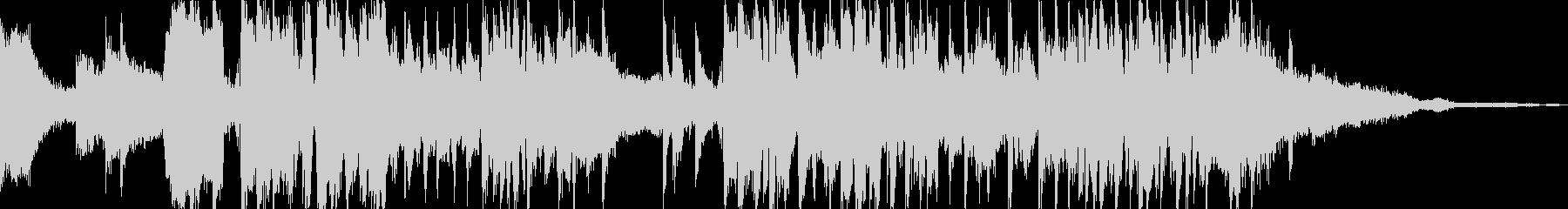 エレクトロニック アクション 静か...の未再生の波形