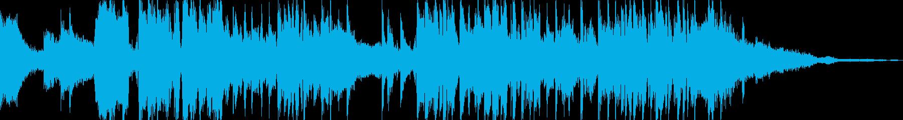 エレクトロニック アクション 静か...の再生済みの波形