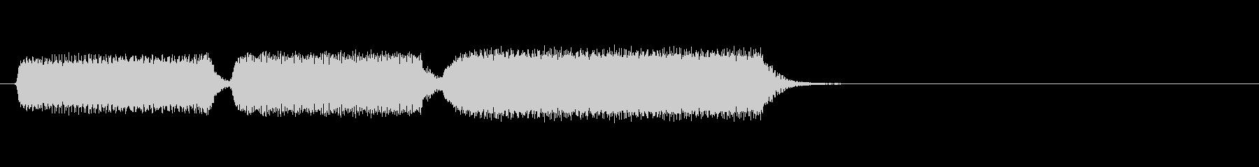 生演奏リコーダーでおじぎ(短調)の未再生の波形