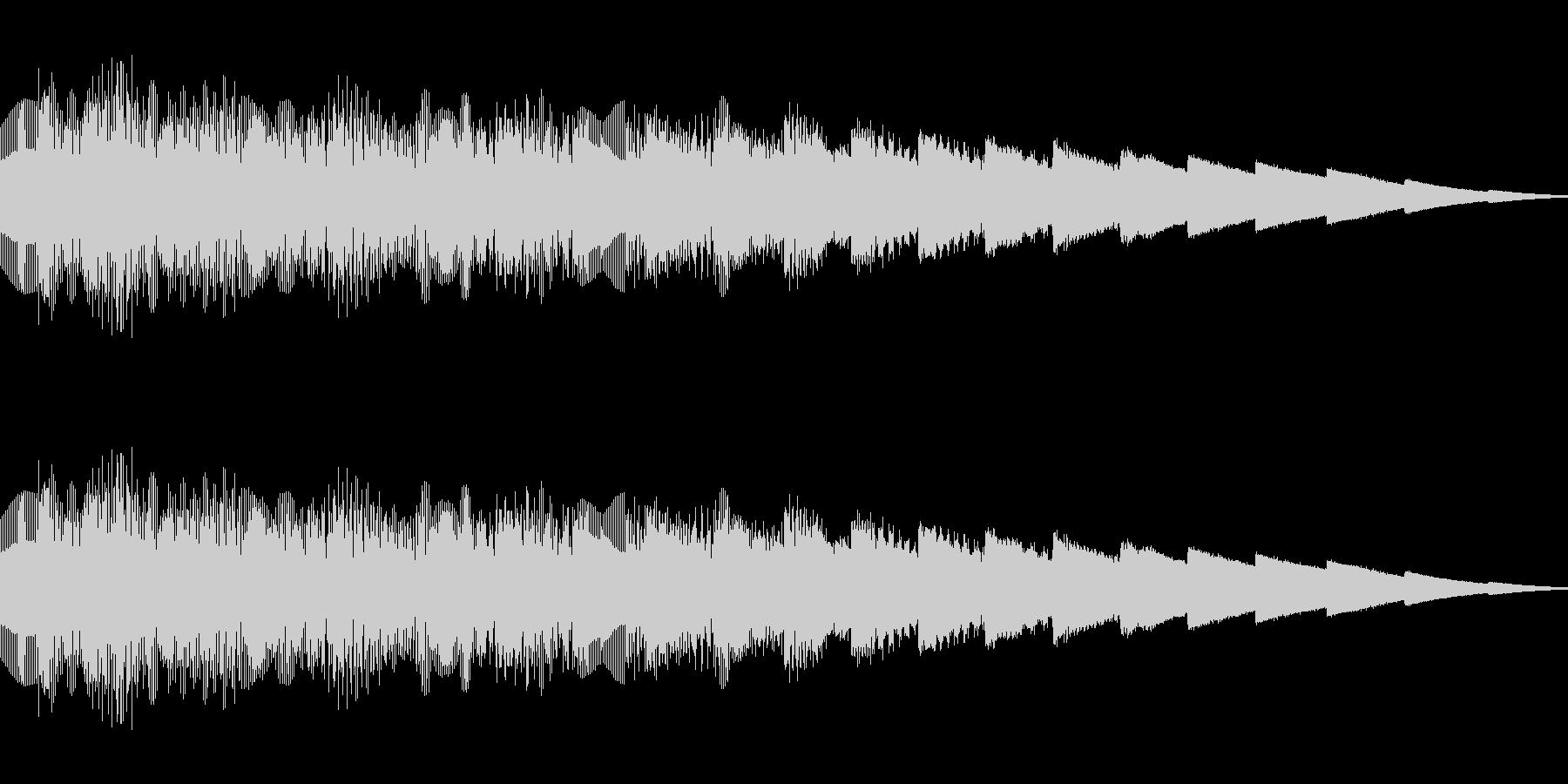 ピロピロピロ(ピコピコ/ワープ/異次元の未再生の波形