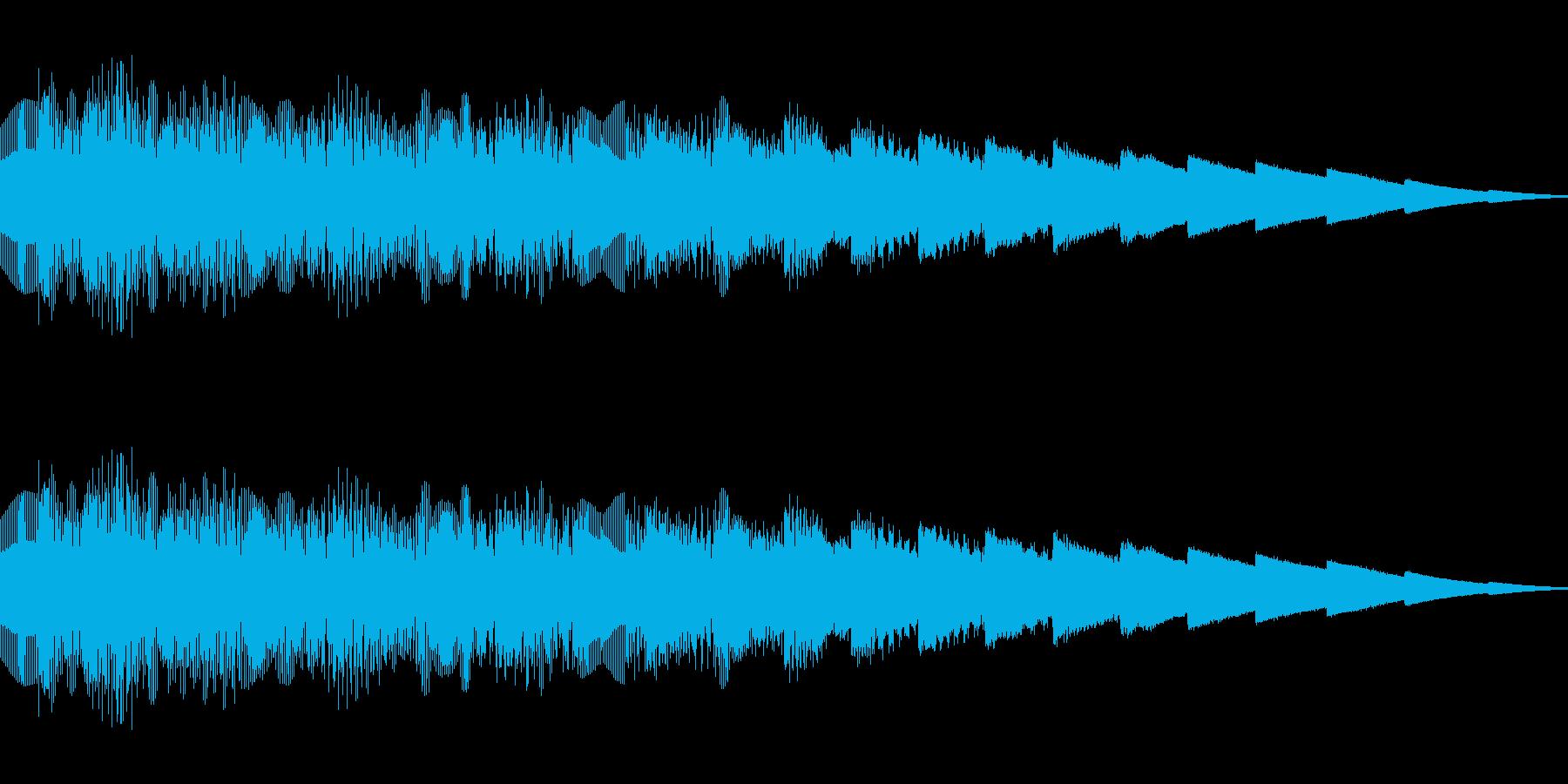 ピロピロピロ(ピコピコ/ワープ/異次元の再生済みの波形