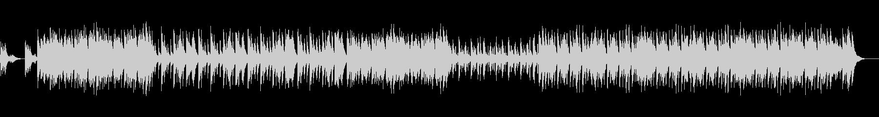ピアノオルガンの昭和な楽しいくかわいい曲の未再生の波形
