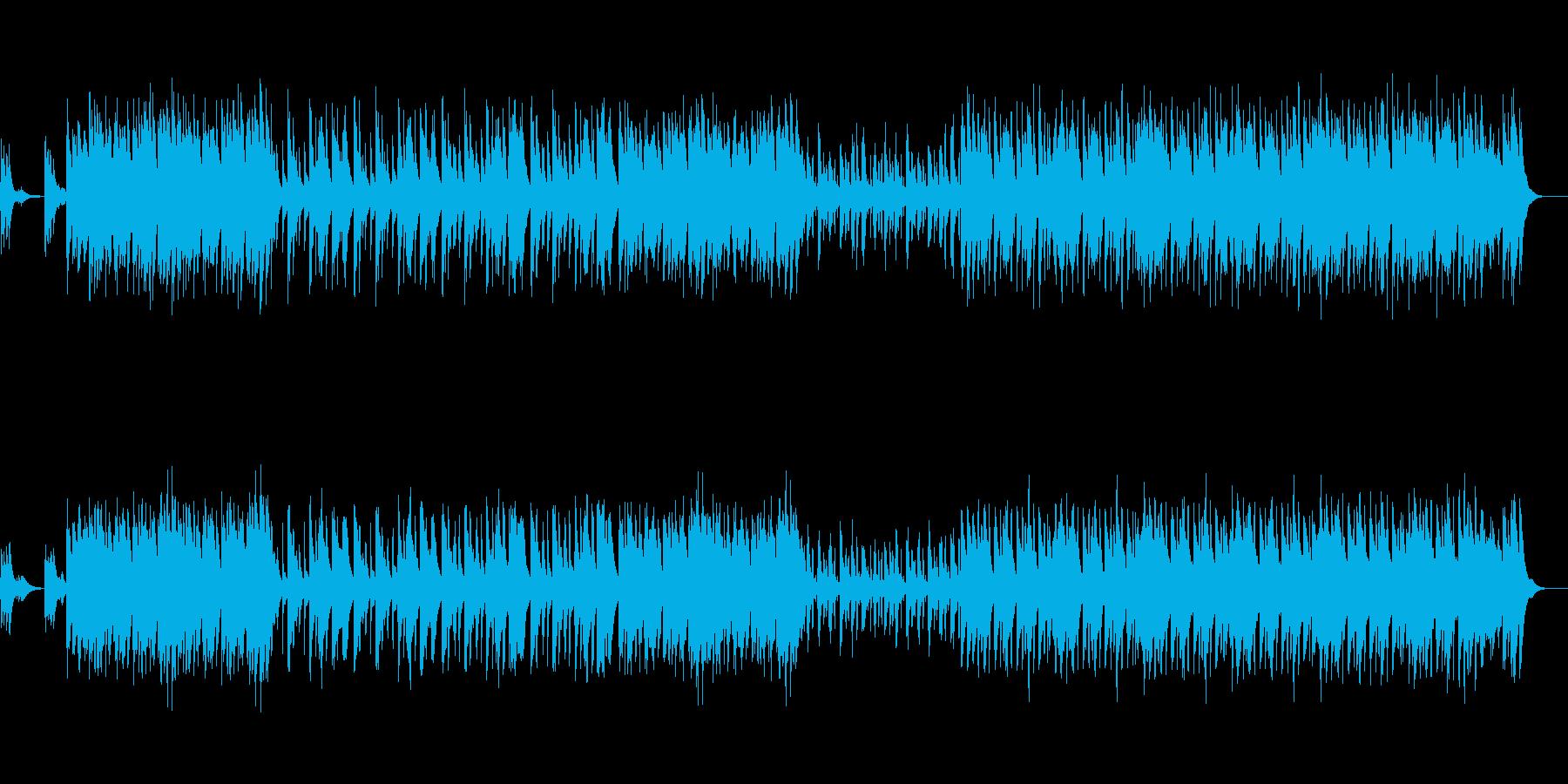 ピアノオルガンの昭和な楽しいくかわいい曲の再生済みの波形