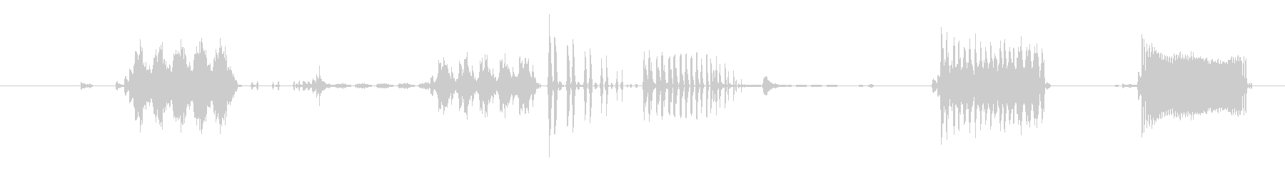 フィクション デバイス メカニカル...の未再生の波形