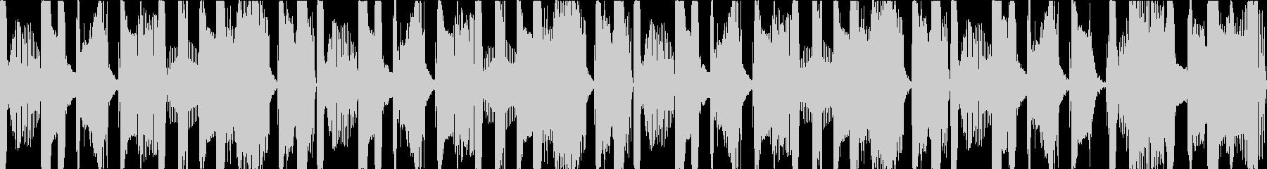 ヒップホップ(ウッドベース)なループの未再生の波形