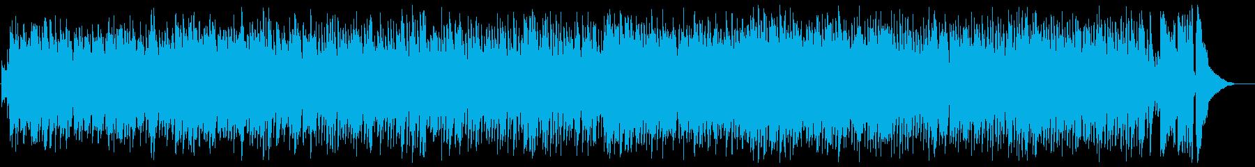 懐かしさを感じるカントリー・ミュージックの再生済みの波形