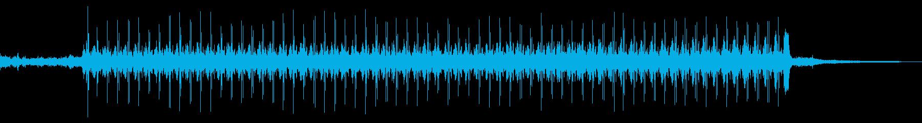 レタープレス:開始、実行、停止、工...の再生済みの波形