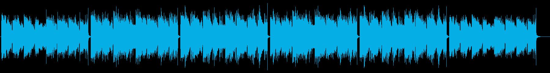 幻想的でリラックスしたLofiの再生済みの波形
