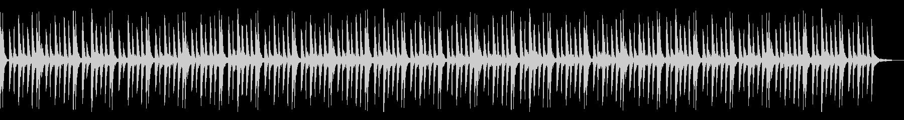 優しいヴォイスのエレクトロシーケンスの未再生の波形