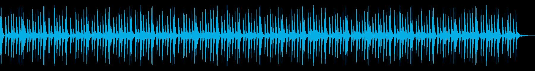 優しいヴォイスのエレクトロシーケンスの再生済みの波形