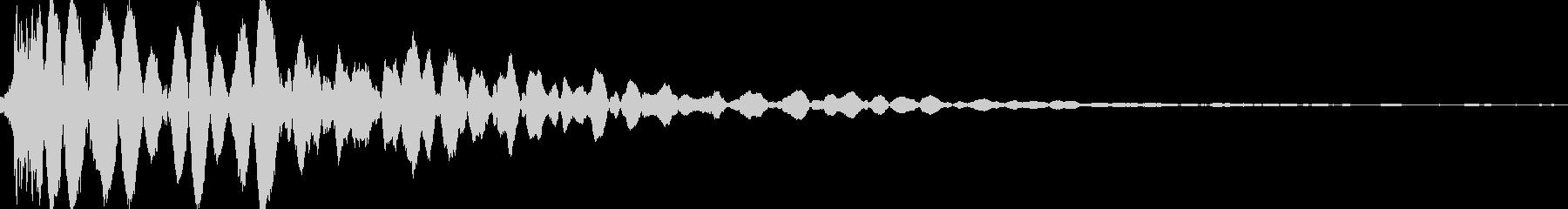 ヒットヒットインパクト4の未再生の波形